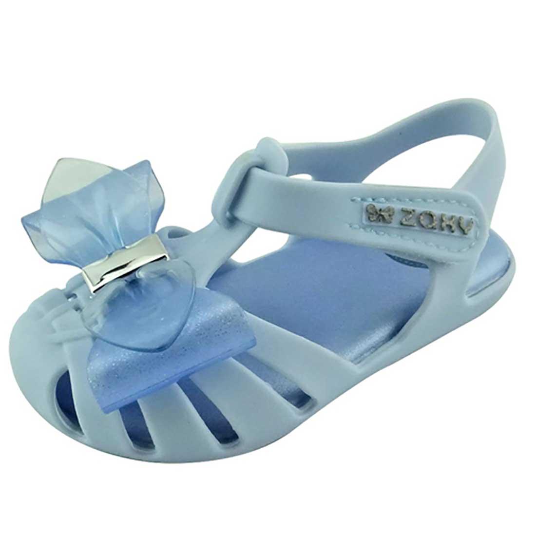 Sandália Zaxy Nina Baby Laço - Azul