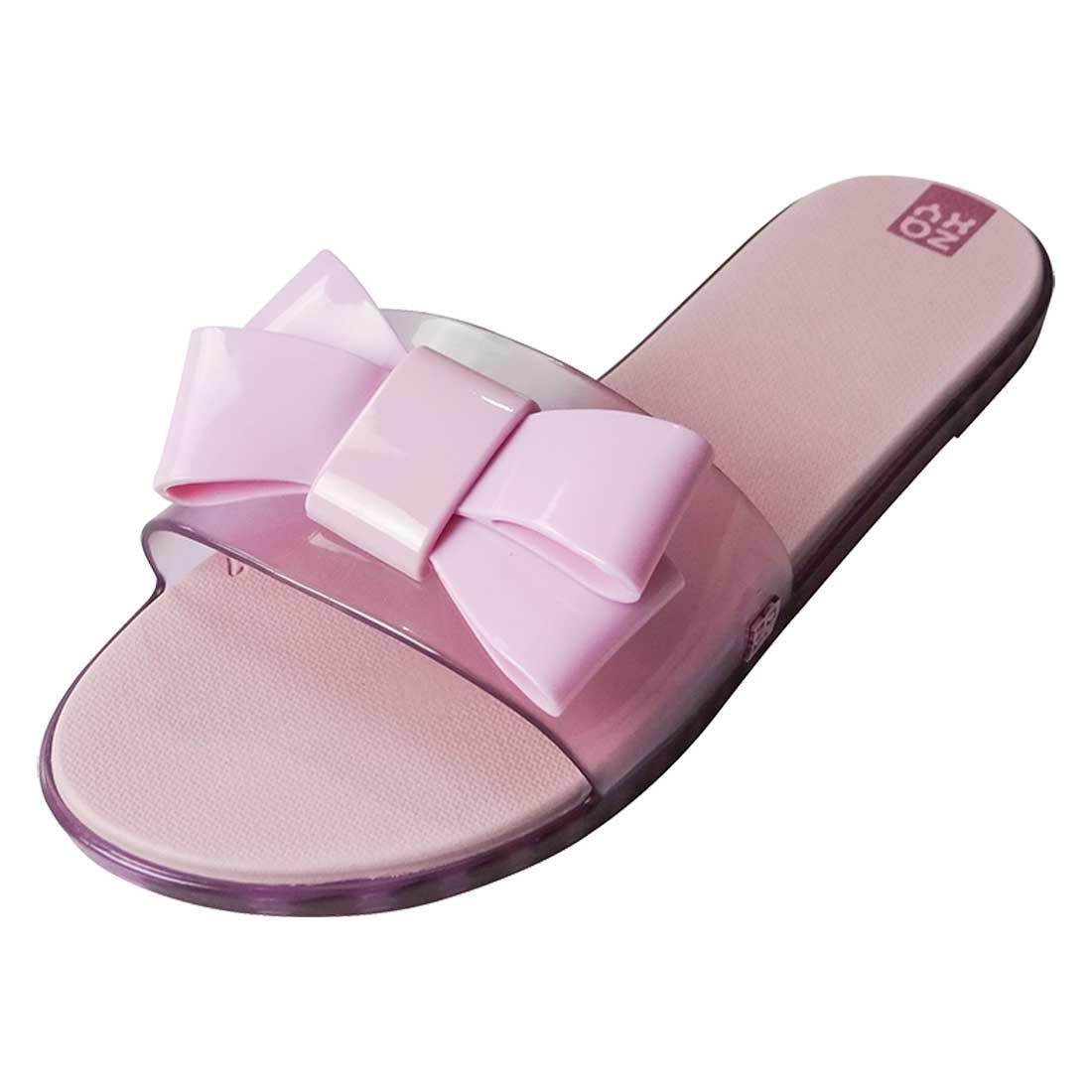 Sandália Zaxy Sky Slide - Rosa Translucido