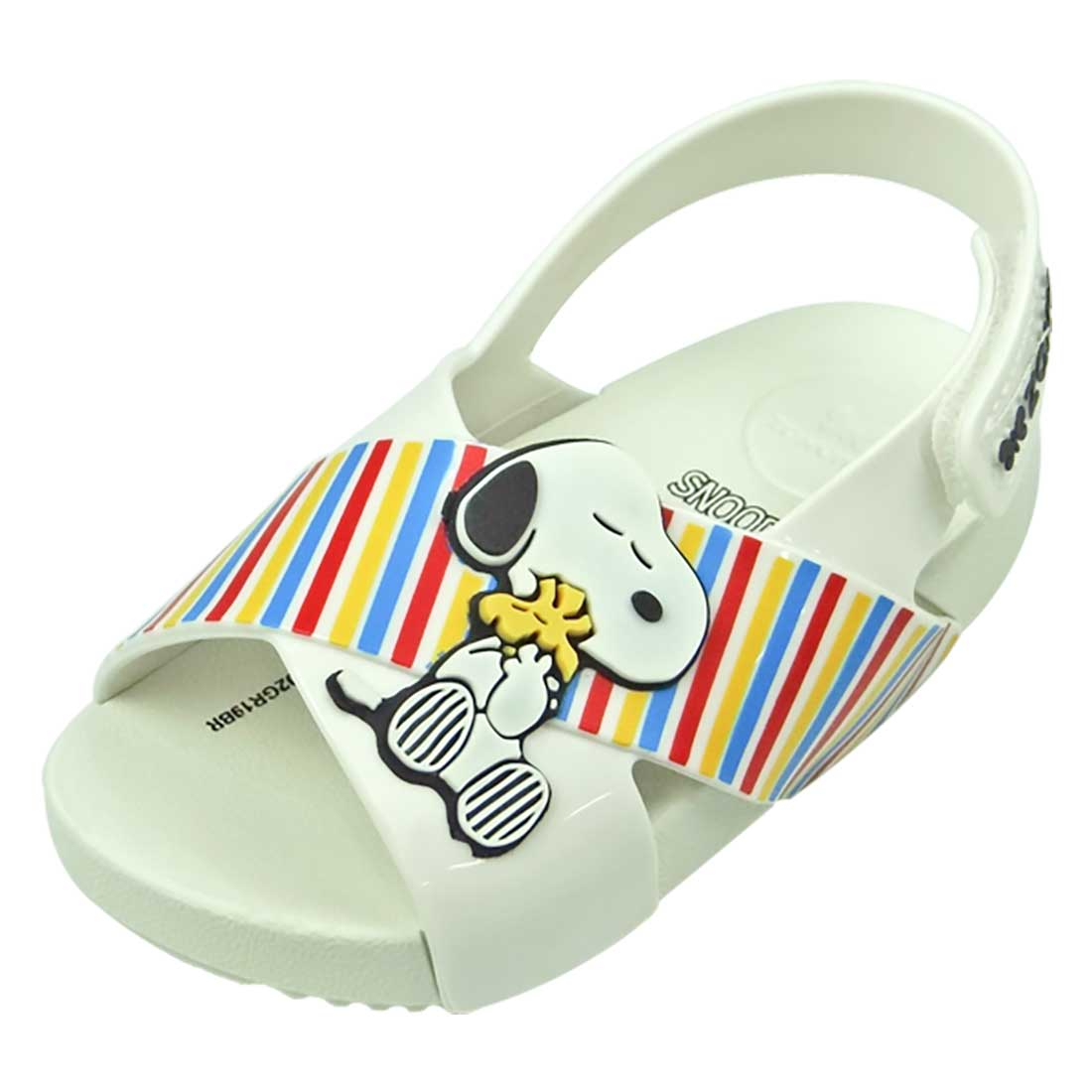 Sandália Zaxy Snoopy Baby - Branco