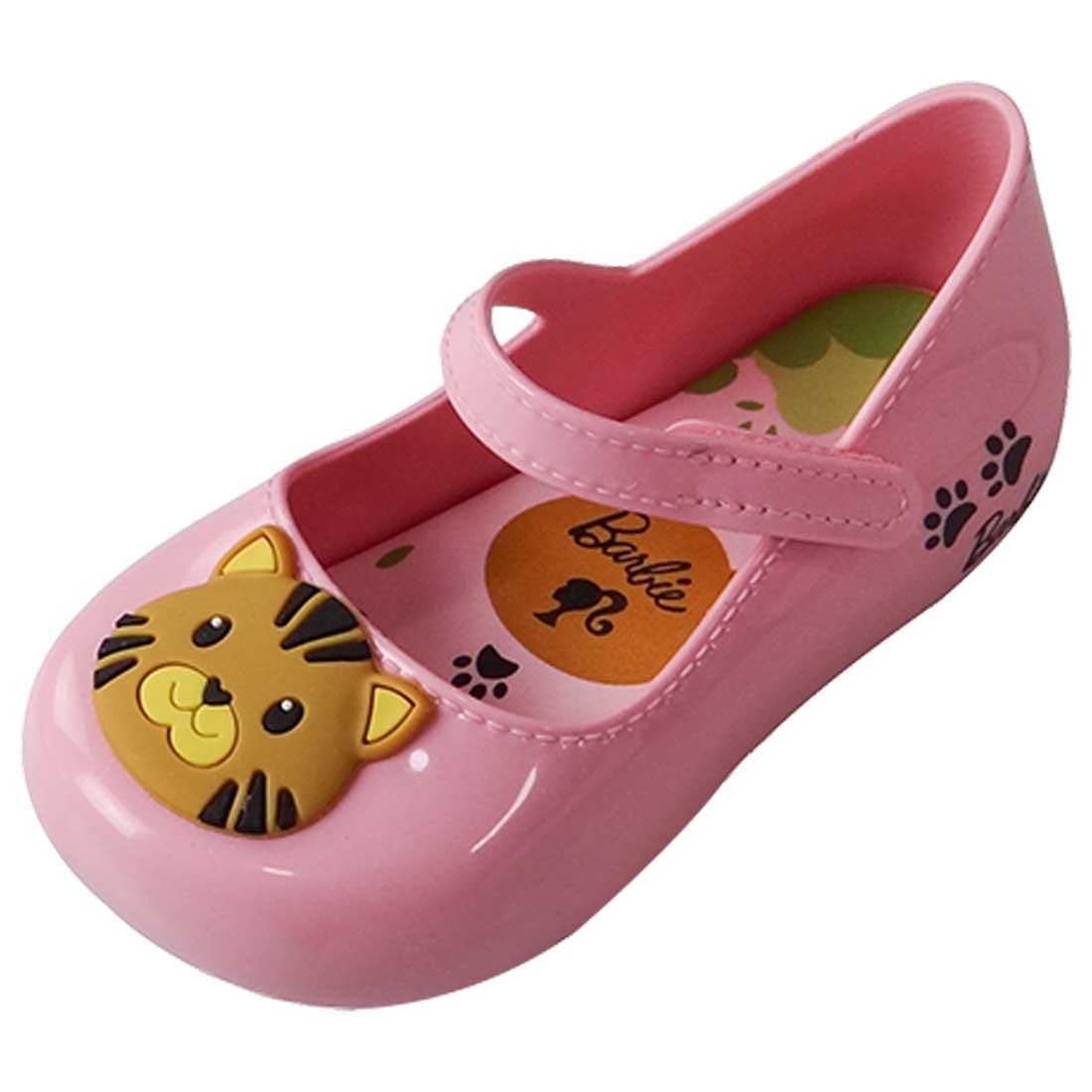Sapatilha Barbie My Friends Tigre - Rosa Bebê