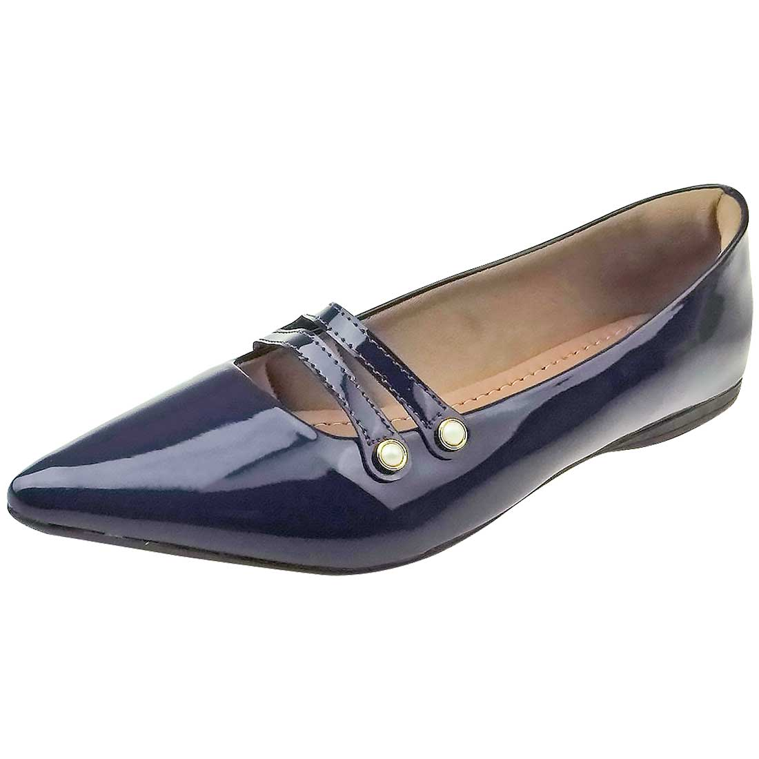 Sapatilha Bico Fino - Azul