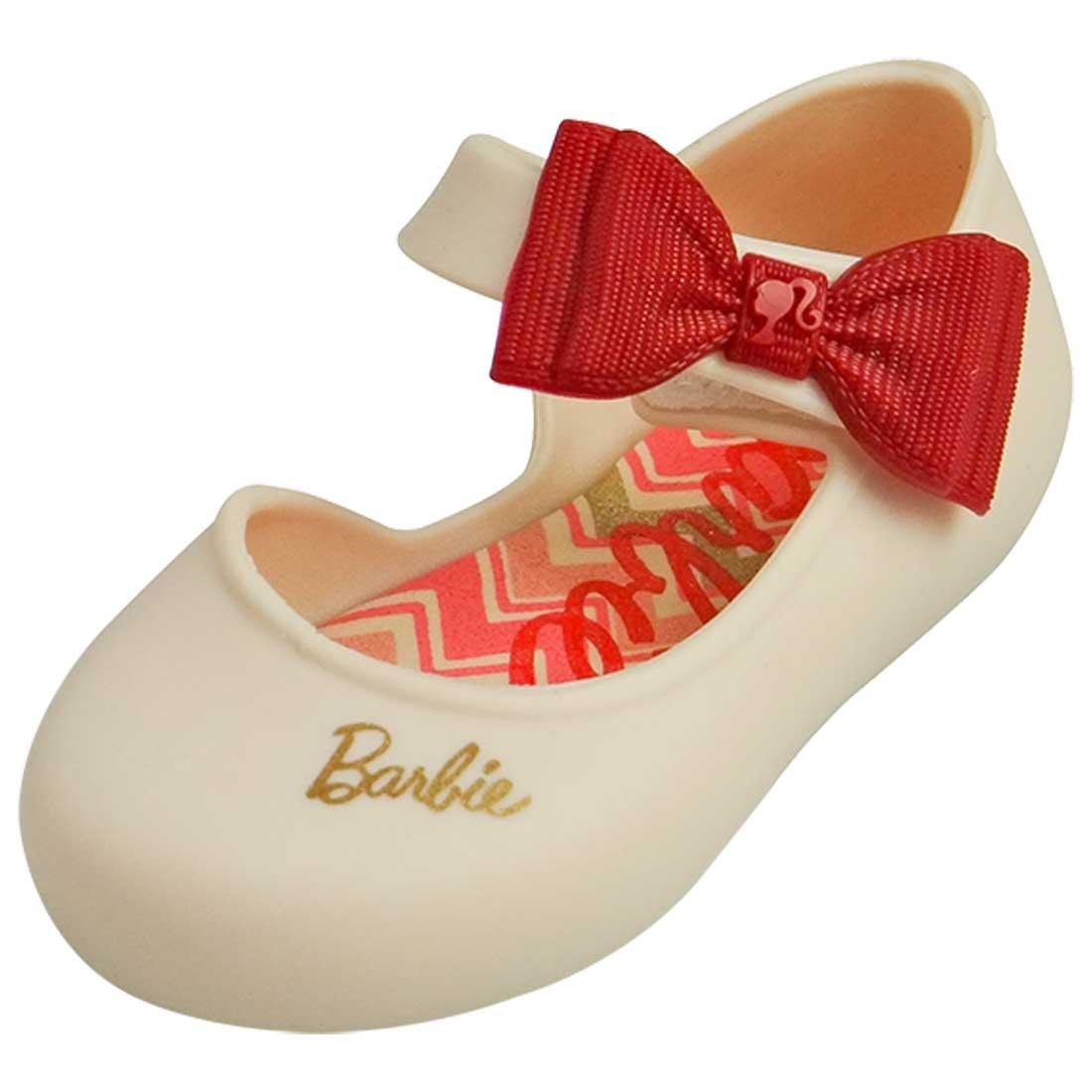 Sapatilha Boneca Baby Barbie Happy - Bege