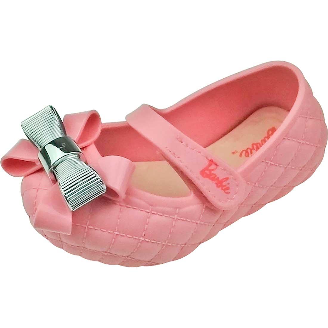 Sapato Boneca Baby com Laço Barbie - Rosa