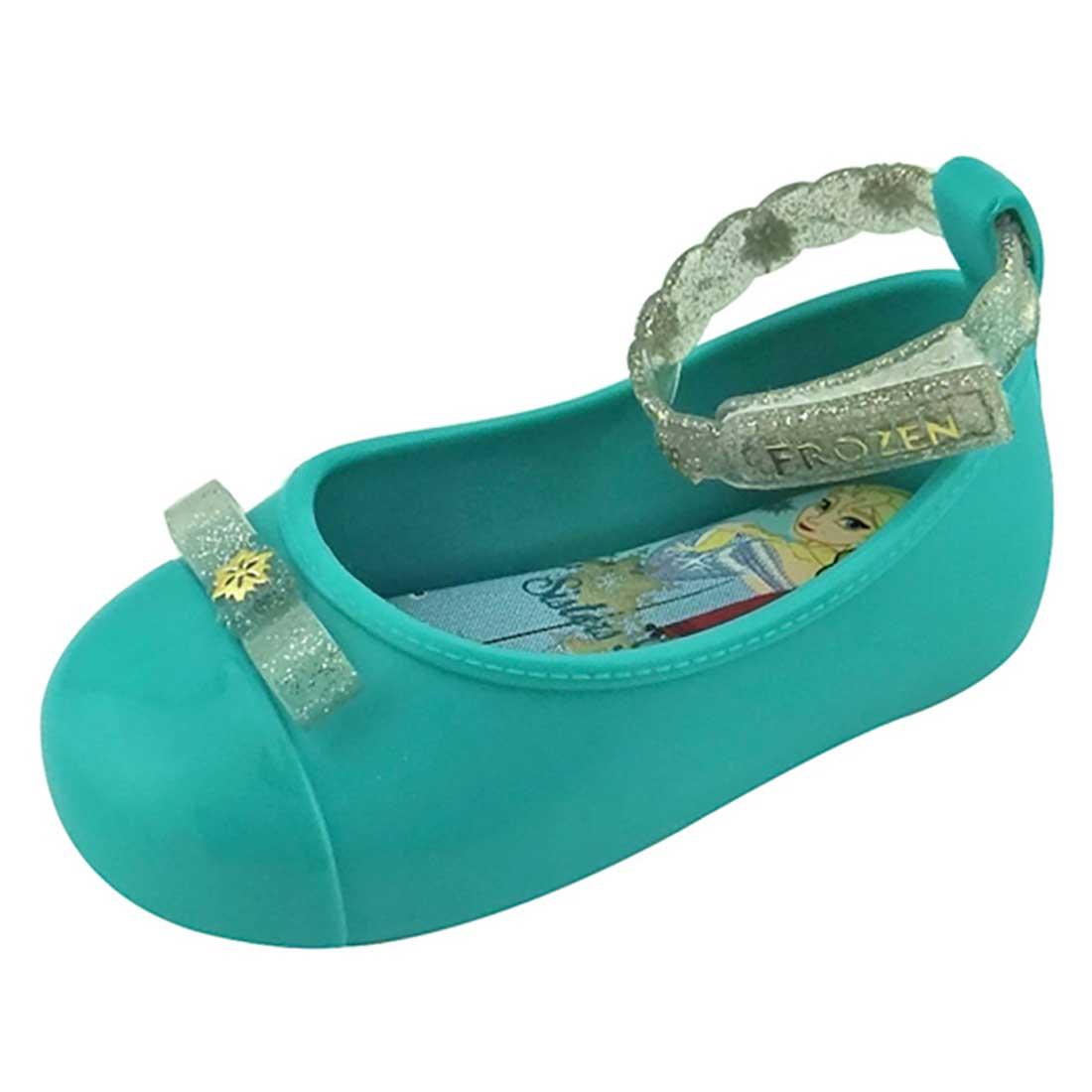 Sapato Boneca Baby Frozen - Azul