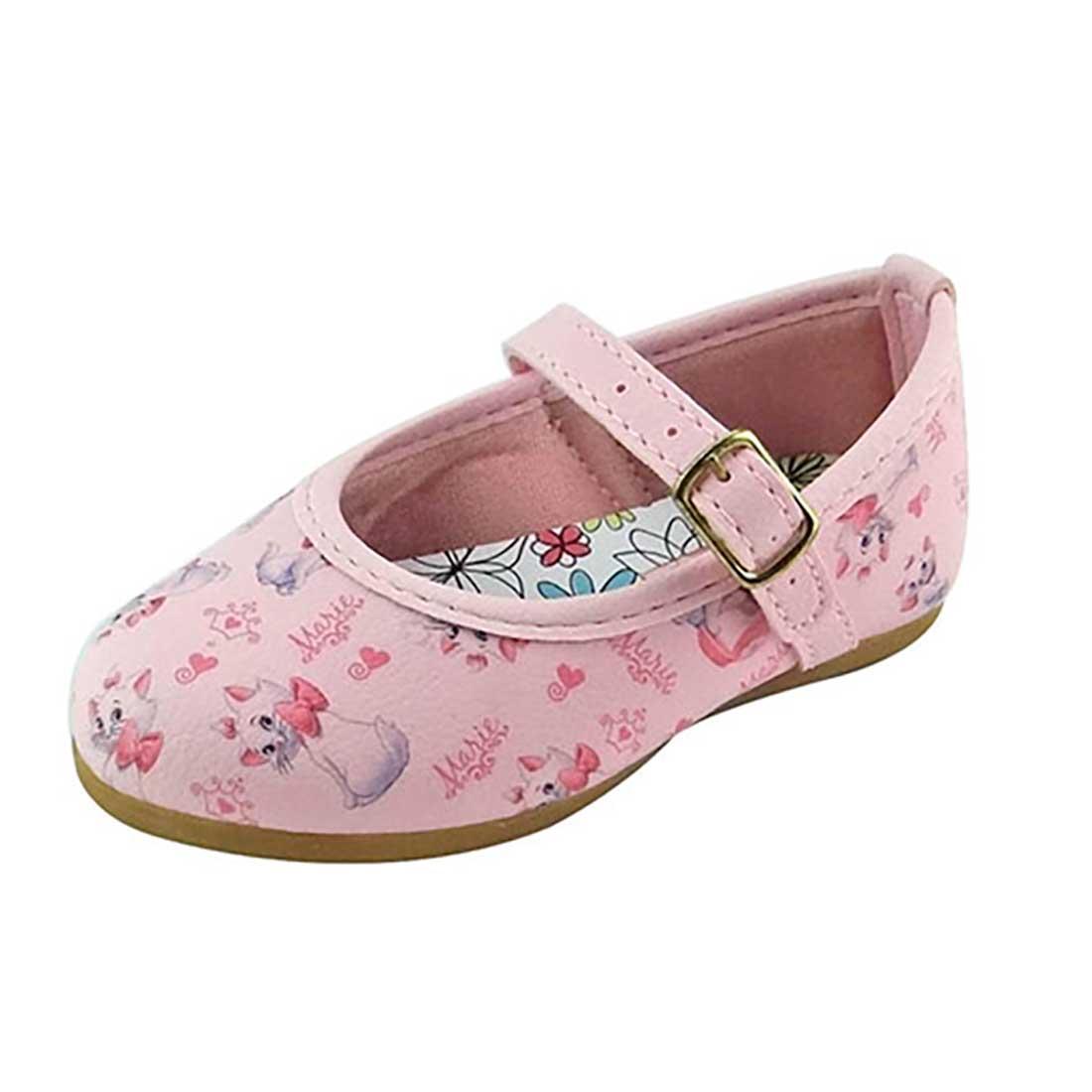 Sapato Boneca Baby Marie - Rosa Bebê