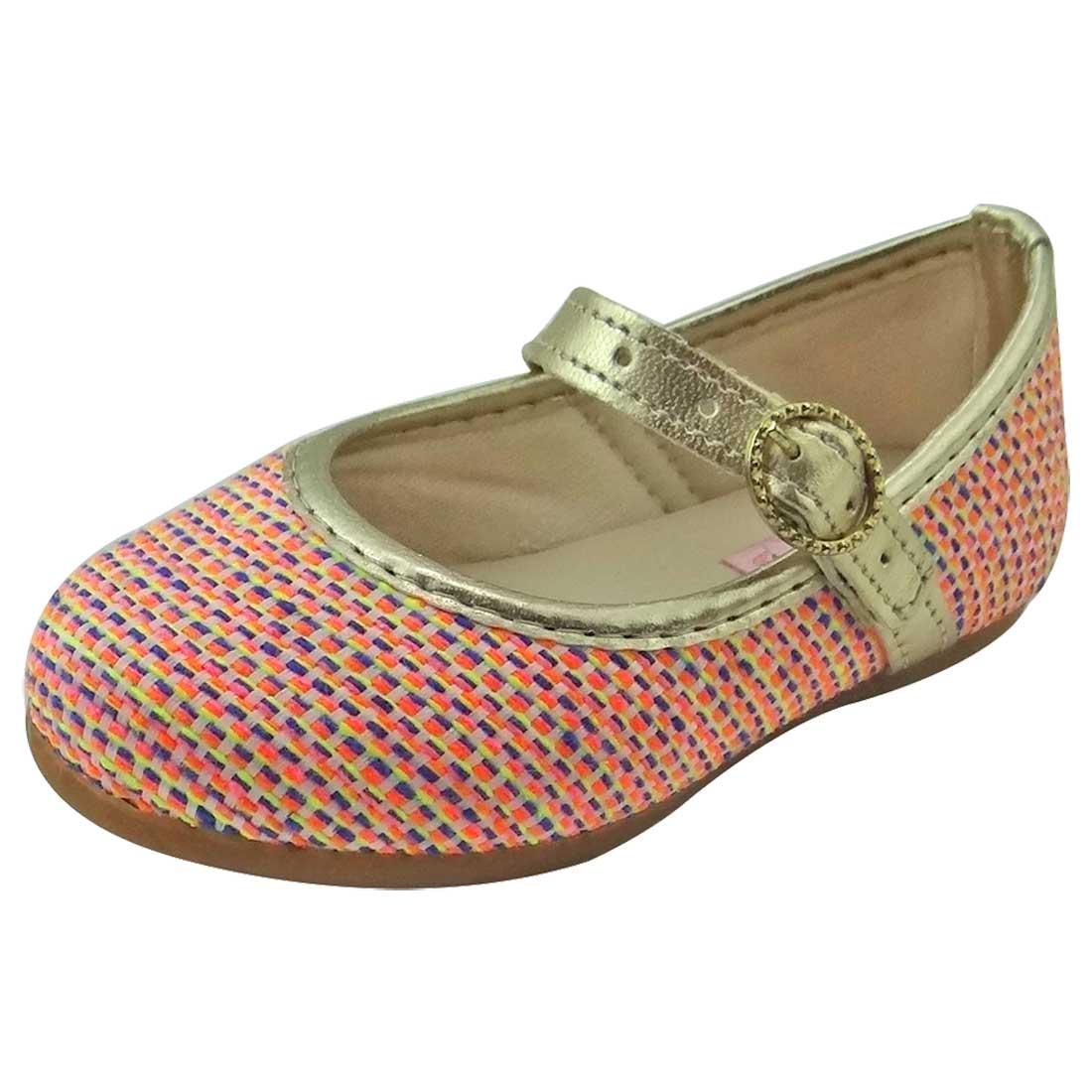 Sapato Boneca Baby - Rosa Colorida