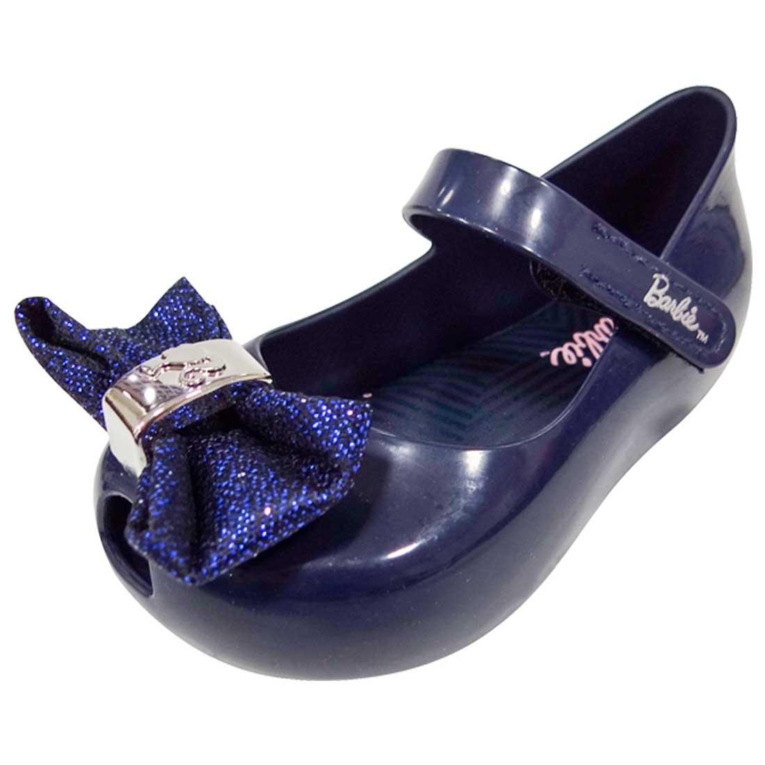 Sapato Boneca Barbie Trends com Laço - Azul Marinho