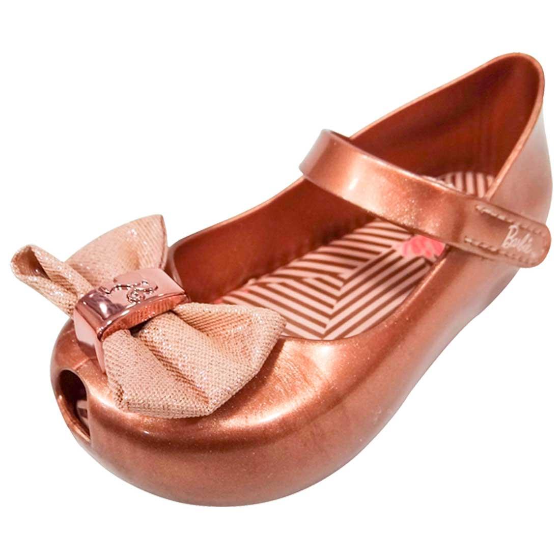 Sapato Boneca Barbie Trends com Laço - Cobre