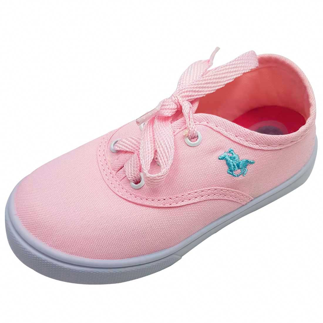Tênis Baby Polo - Rosa Bebê