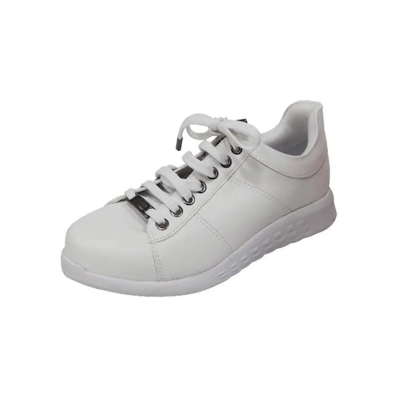 Tênis Comfort com Cadarço - Branco