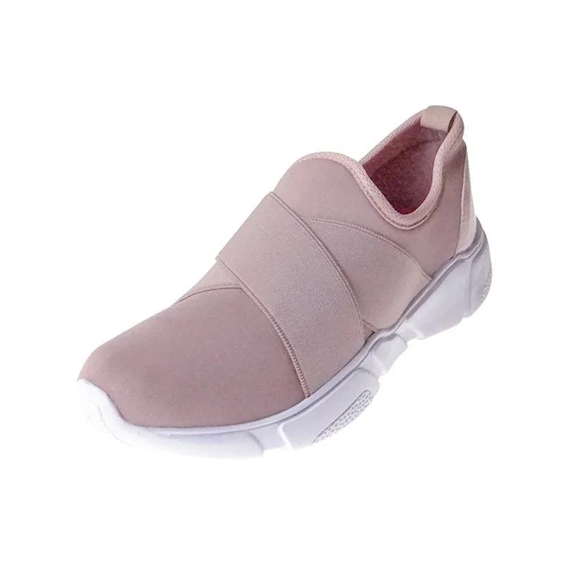Tênis Comfort com Elástico - Nude Rosé