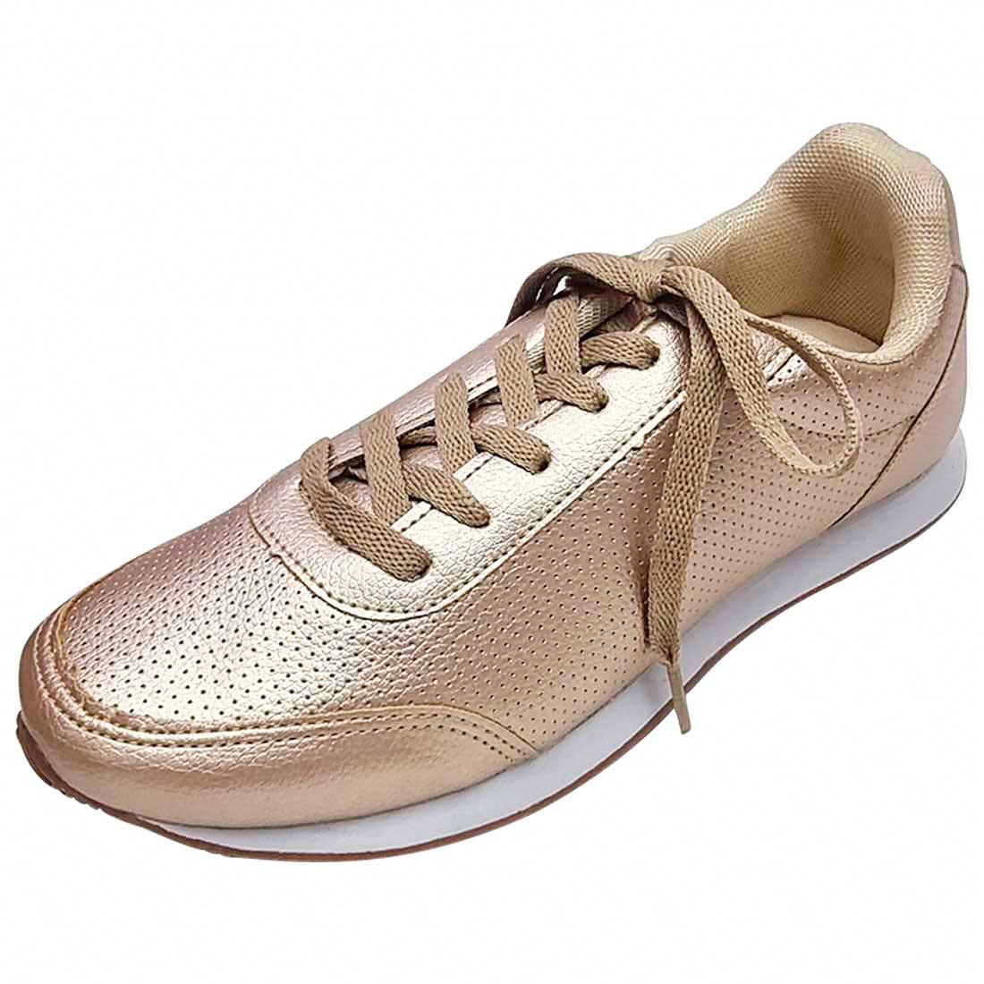 Tênis Jogging - Ouro