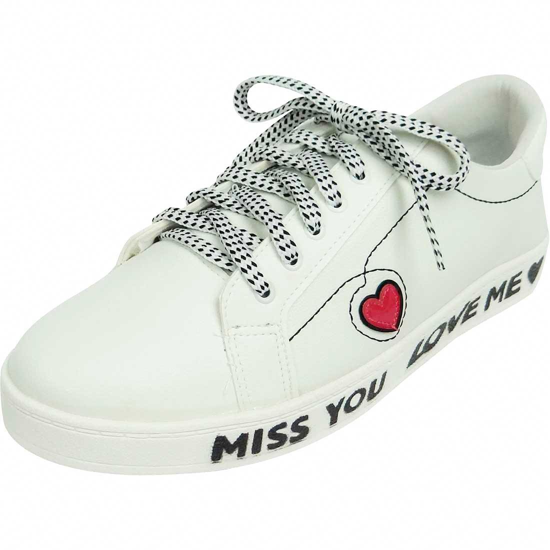 Tênis Miss You Love Me - Branco