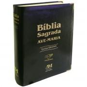 Bíblia Ave-Maria Letra GRANDE preta