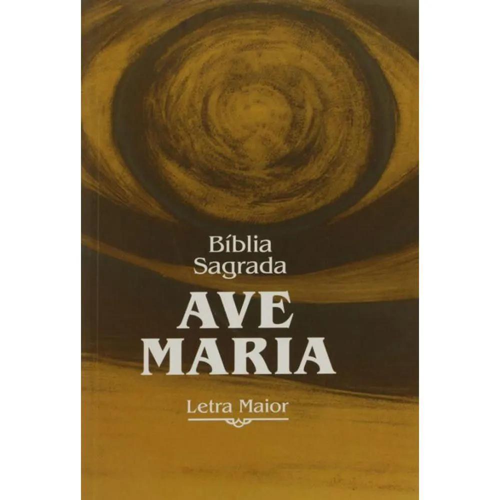 Bíblia Ave-Maria Letra Maior brochura