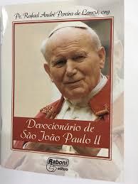 DEVOCIONÁRIO DE SÃO JOÃO PAULO II - ( KIT C/ 2 UNIDADES )