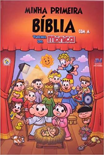 Minha primeira Bíblia(T.Mônica)Gde.