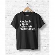 Camiseta Kardec & Denis & Delanne & Flammarion