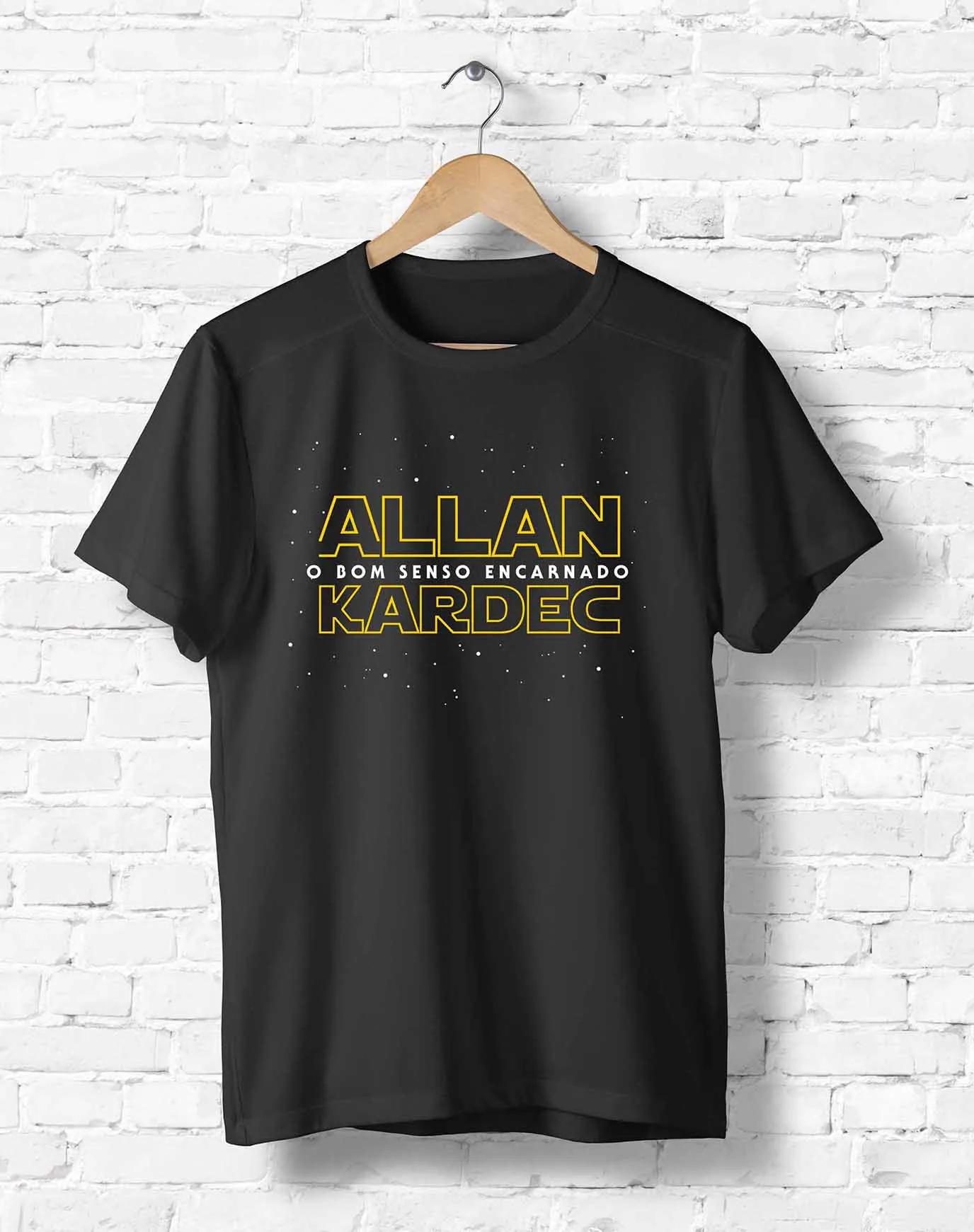 Camiseta Kardec - O Bom Senso Encarnado