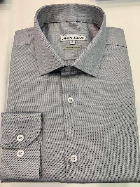 Camisa m/longa 100% algodão fio 120 egípcio