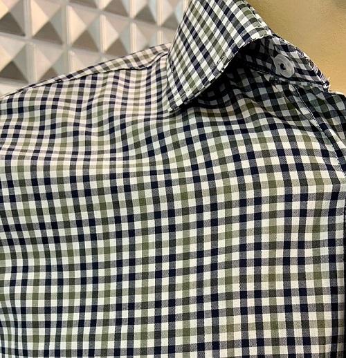 Camisa m/longa 100% algodão fio egípcio