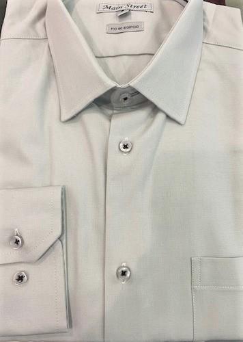Camisa manga longa 100% algodão fio 80