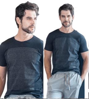 Camiseta manga curta Eletro