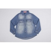 Camisa Jeans Pituchinhus Premium