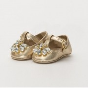 Sapato Pelica Dourado Amoreco