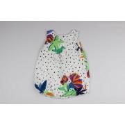 Vestido Frutos do Mar Toddler Green