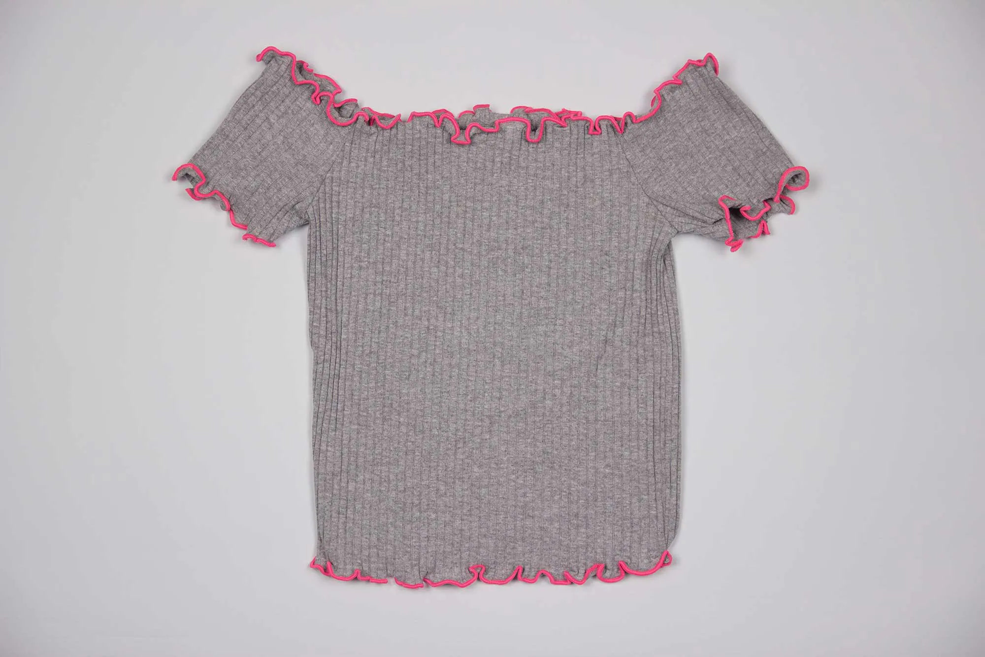 Blusa Cropped Frufru Authoria