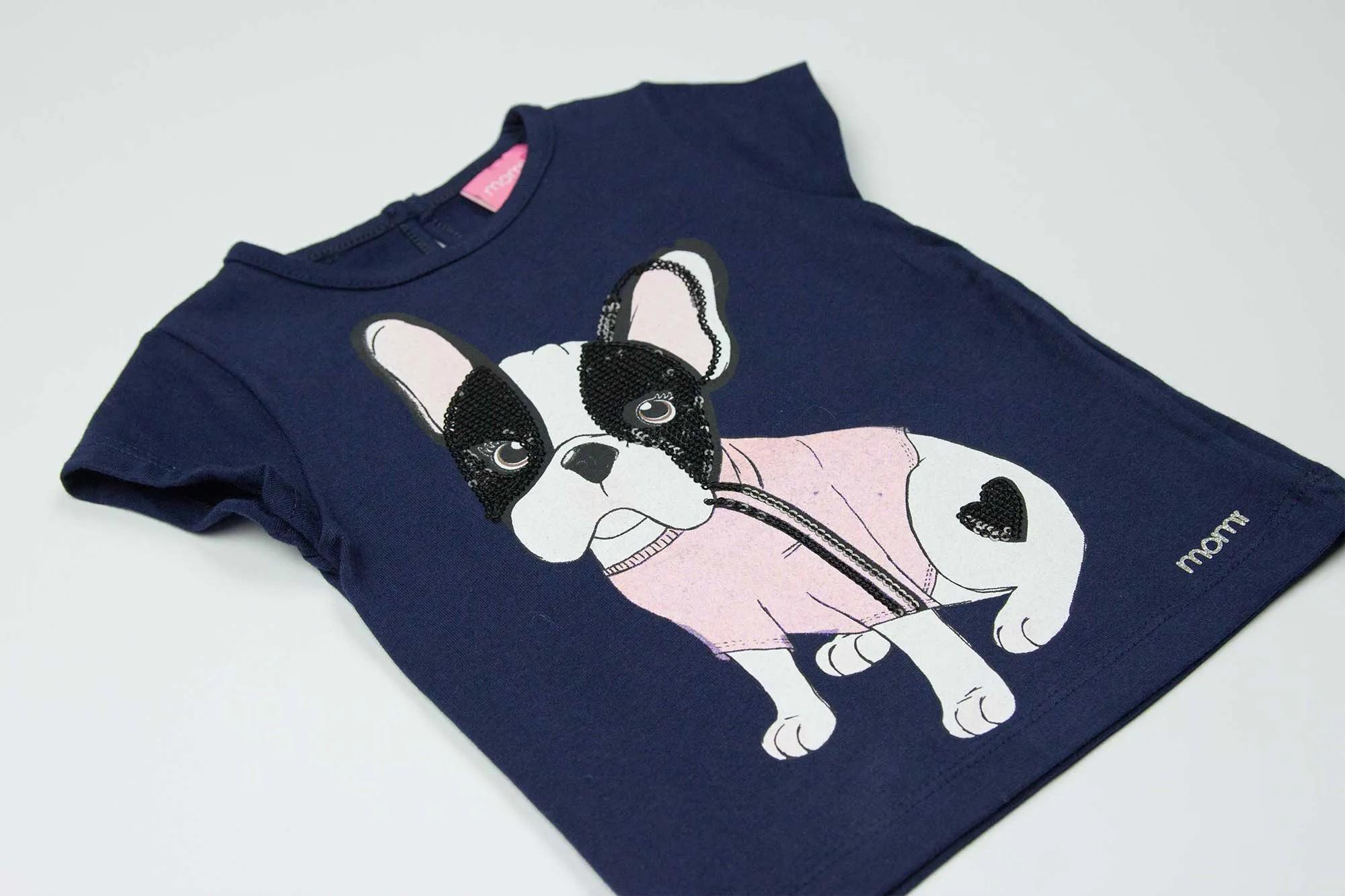 Blusa Dog Lantejoula - Momi