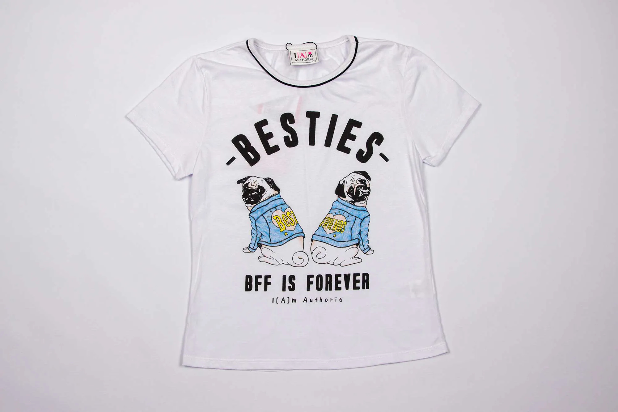 Blusa Malha Besties BFF I Am Authoria