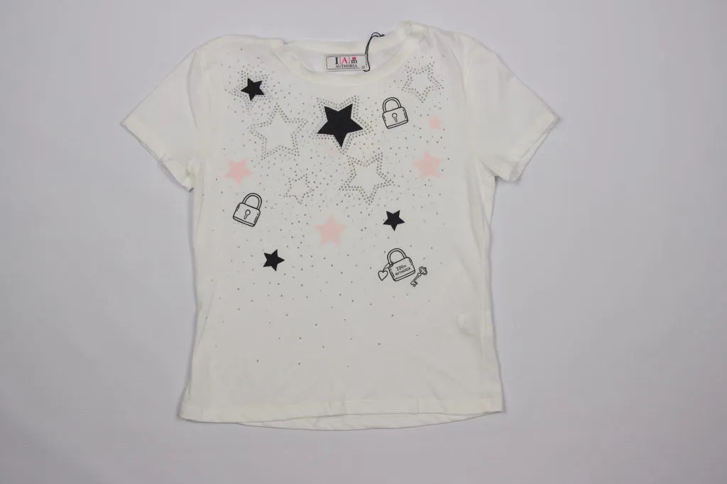 Blusa Stars com Strass I Am Authoria
