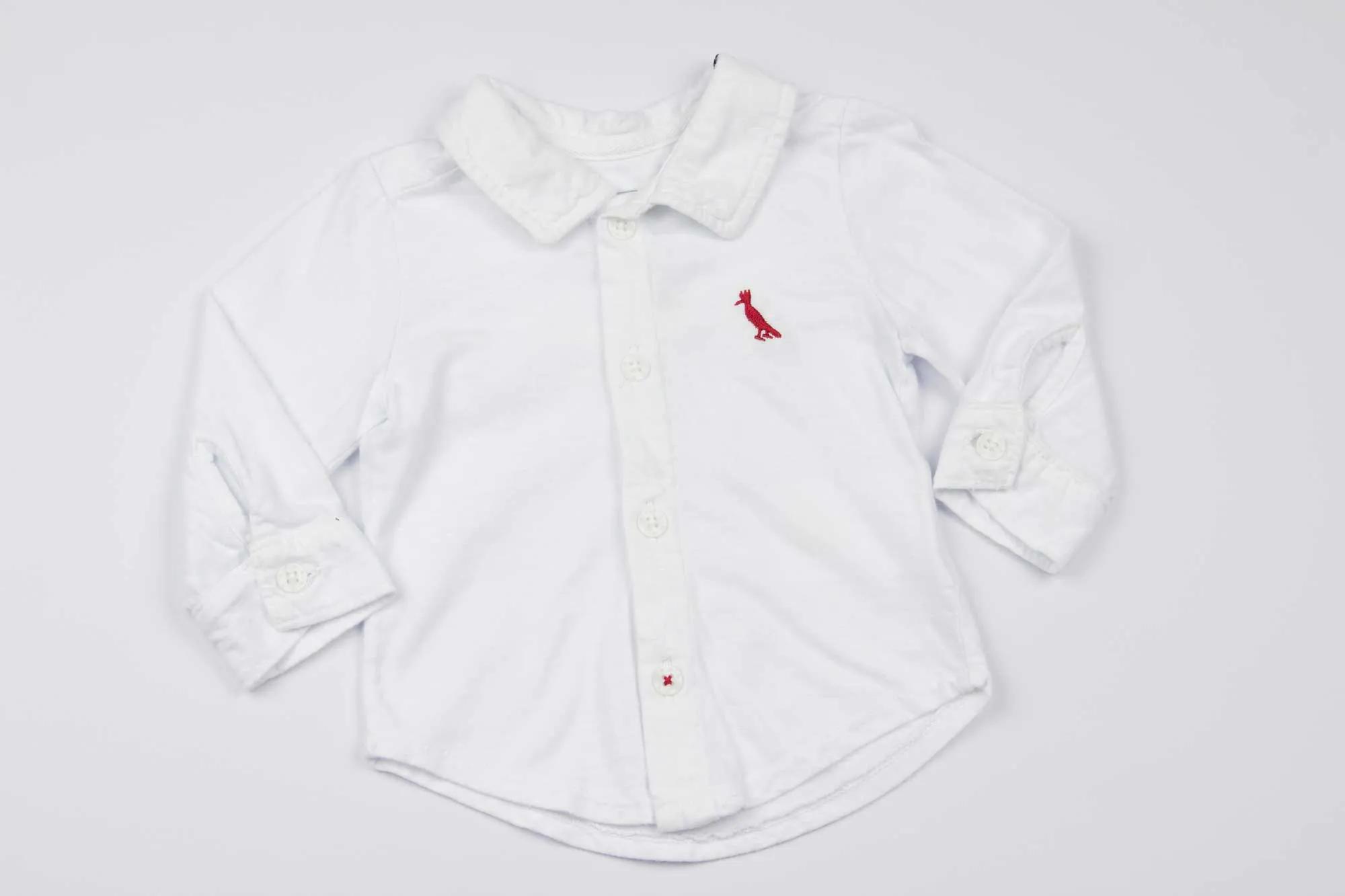 Camisa de Malha Branca Reserva Mini