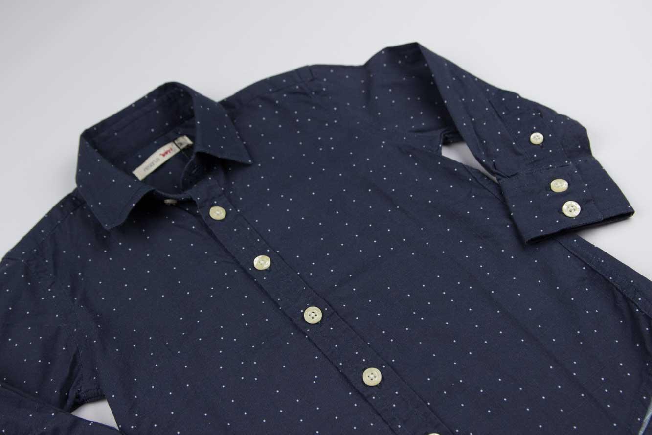 Camisa Marinho Pois Reserva Mini