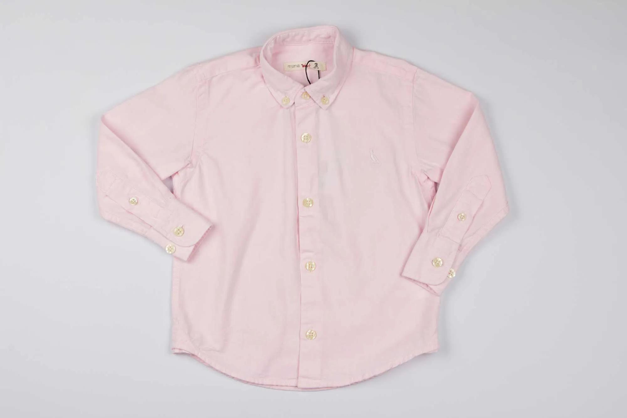 Camisa Oxford Rosa Claro Reserva Mini