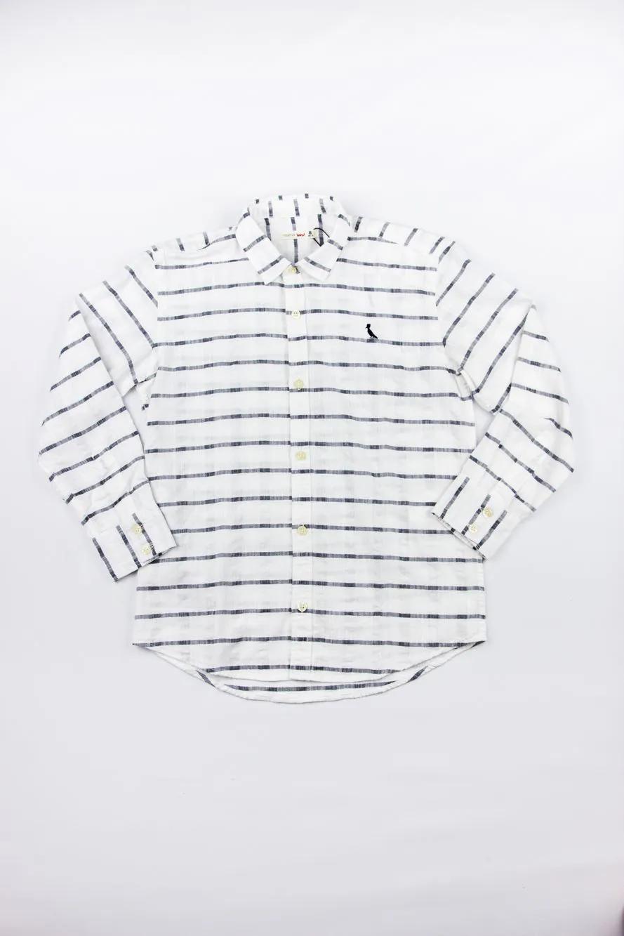 Camisa Textura Horizontal Reserva Mini