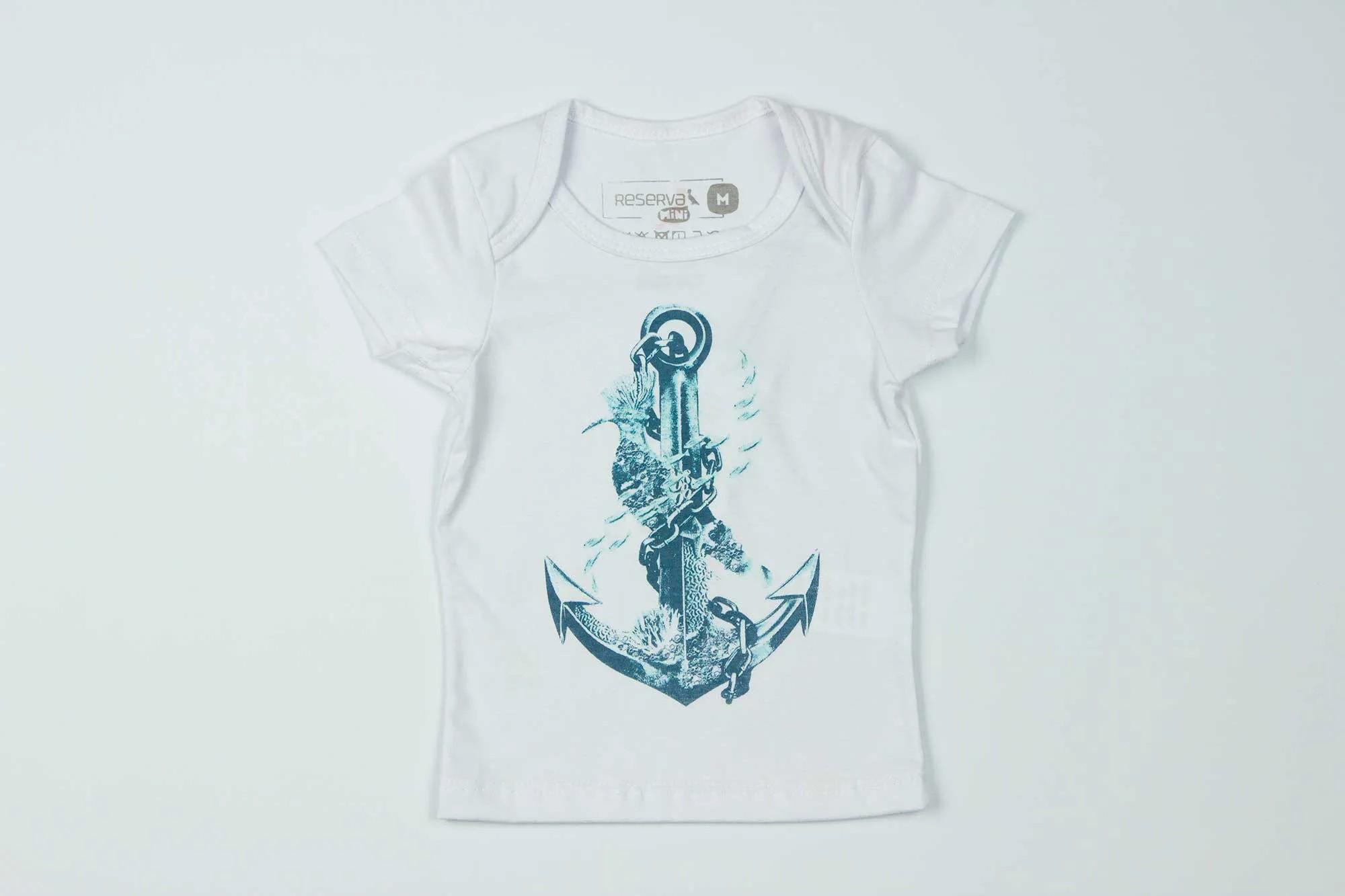 Camiseta BB Âncora Reserva Mini