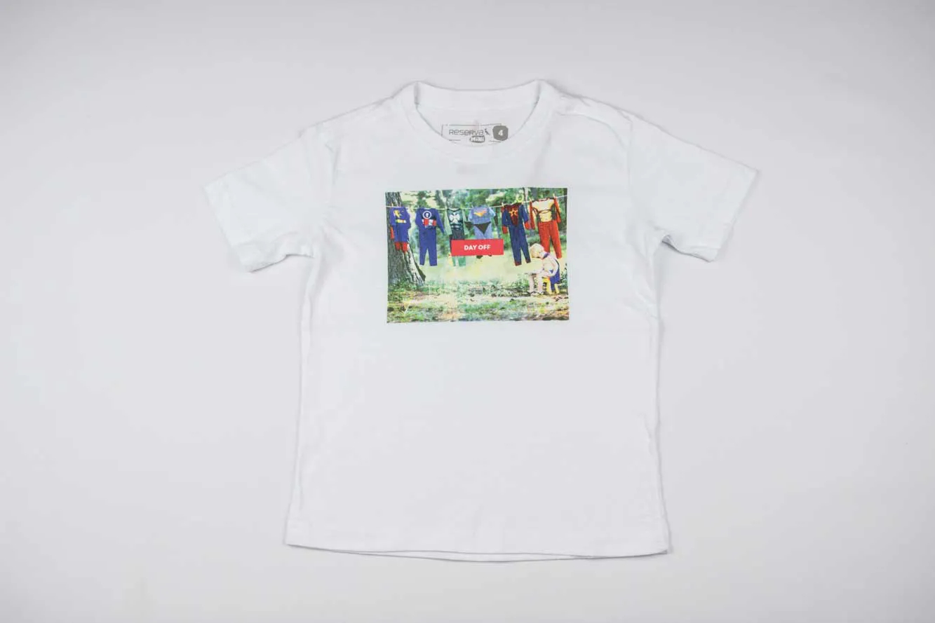 Camiseta Day OFF Reserva Mini