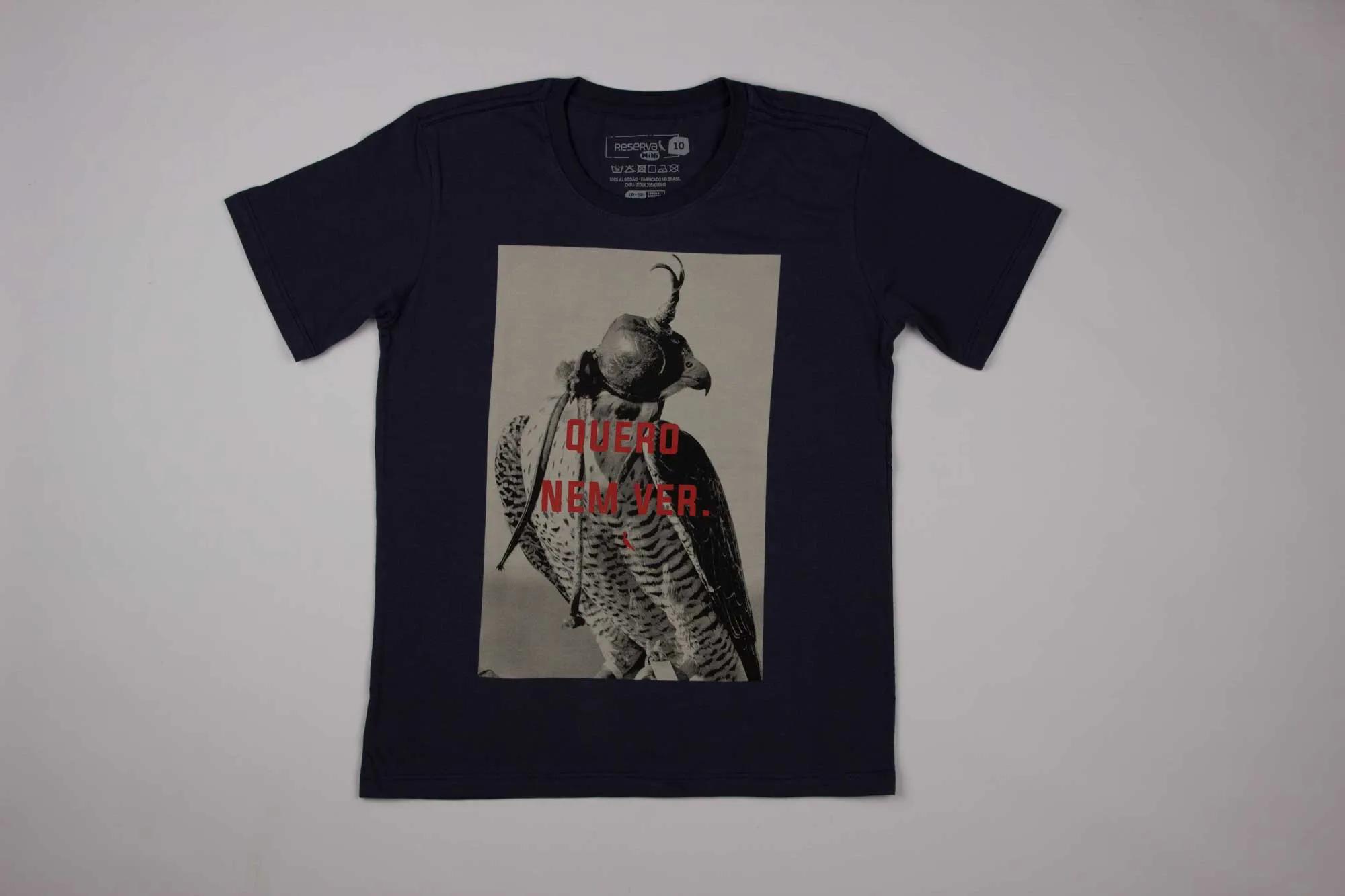 Camiseta Estampa Falcon Reserva Mini