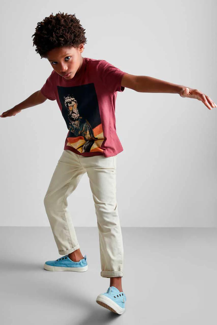 Camiseta Estampa Surf Desde Sempre Reserva Mini