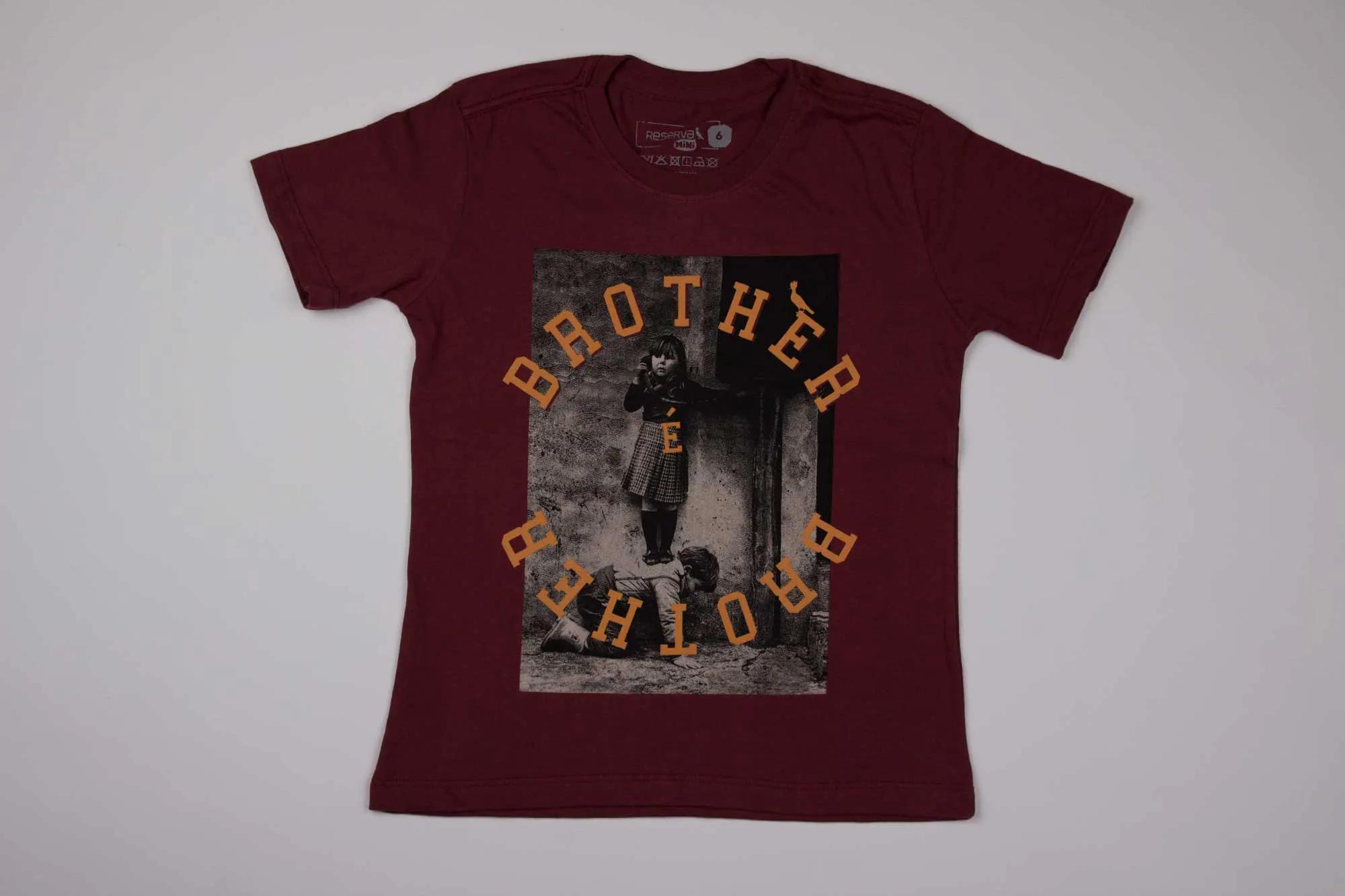 Camiseta Estampada Brother Reserva Mini