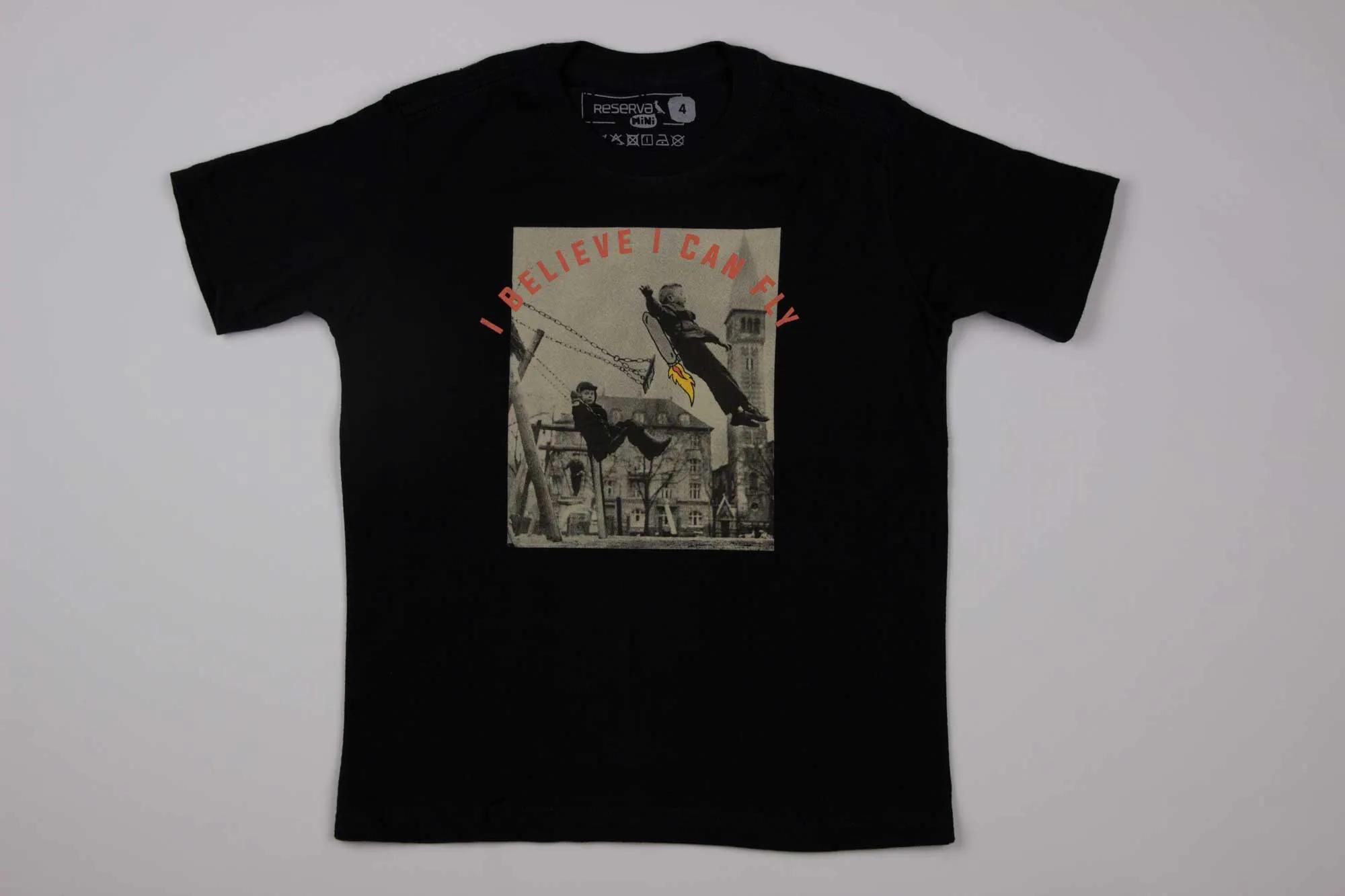 Camiseta Estampada I Believe Reserva Mini