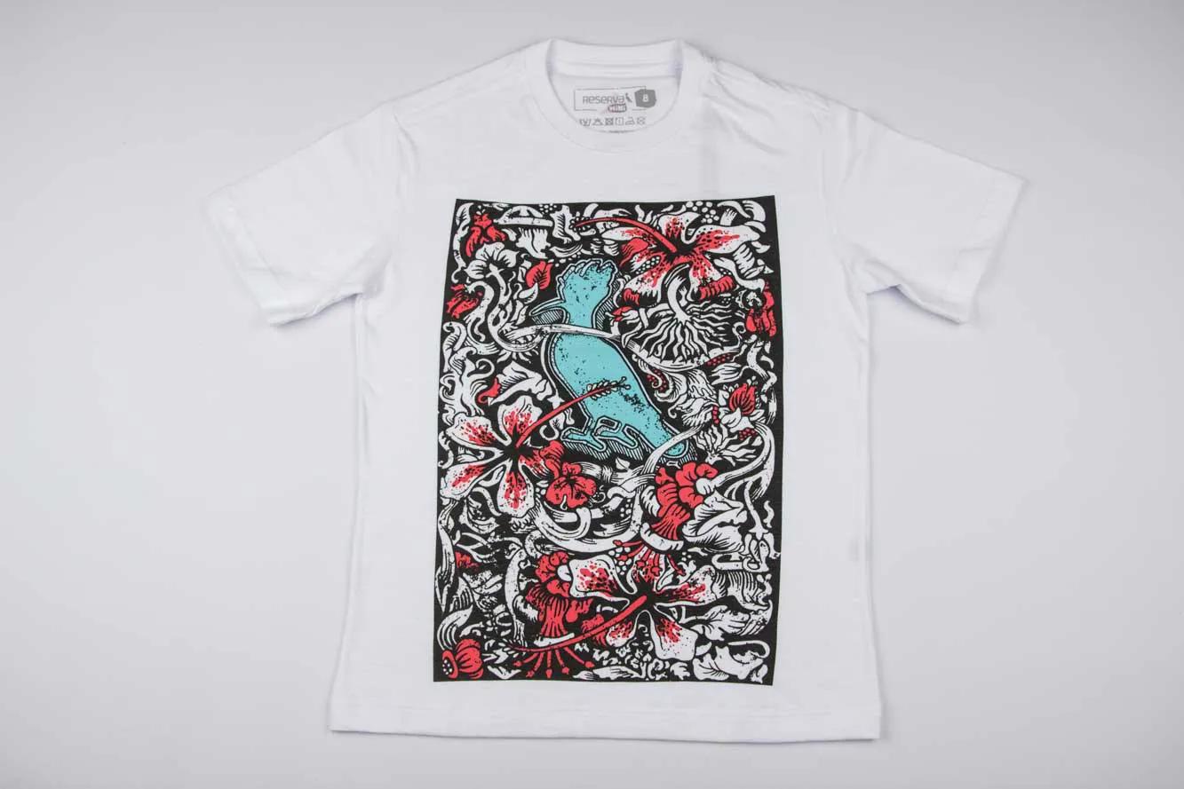 Camiseta Estampada Pica Pau Havanna Reserva Mini