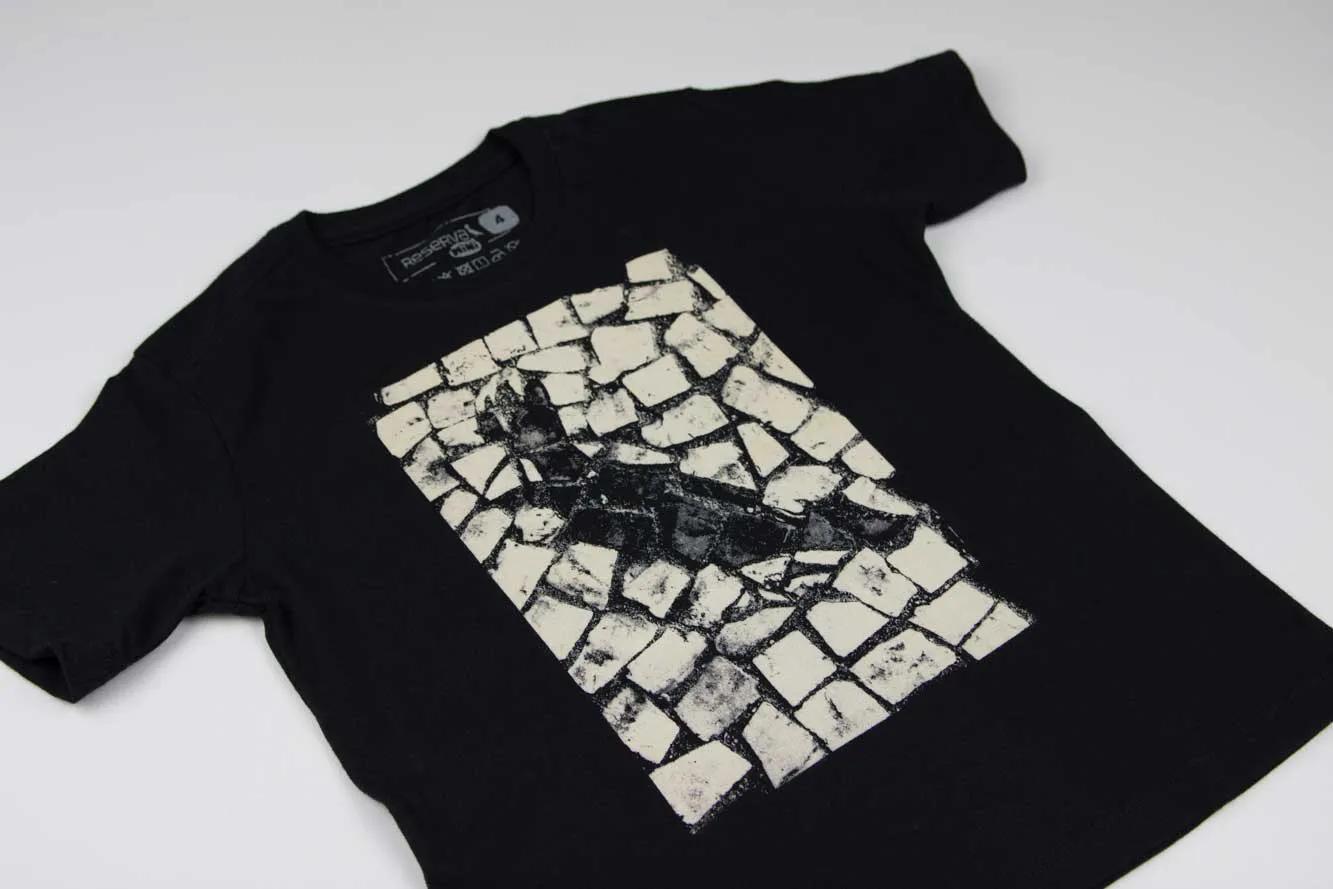 Camiseta Estampada Pica Pau Pedra Reserva Mini