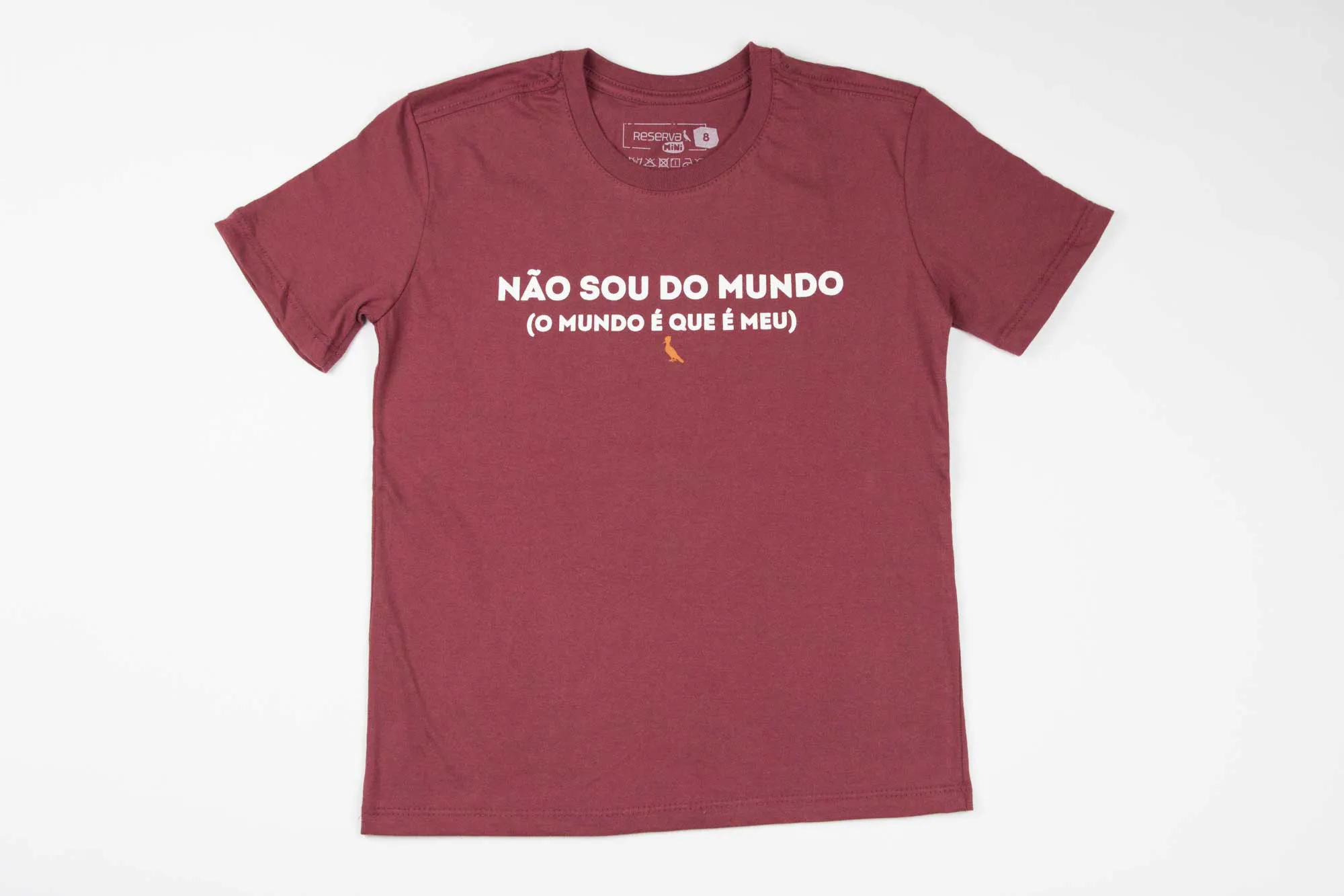 Camiseta Eu Sou do Mundo Reserva Mini