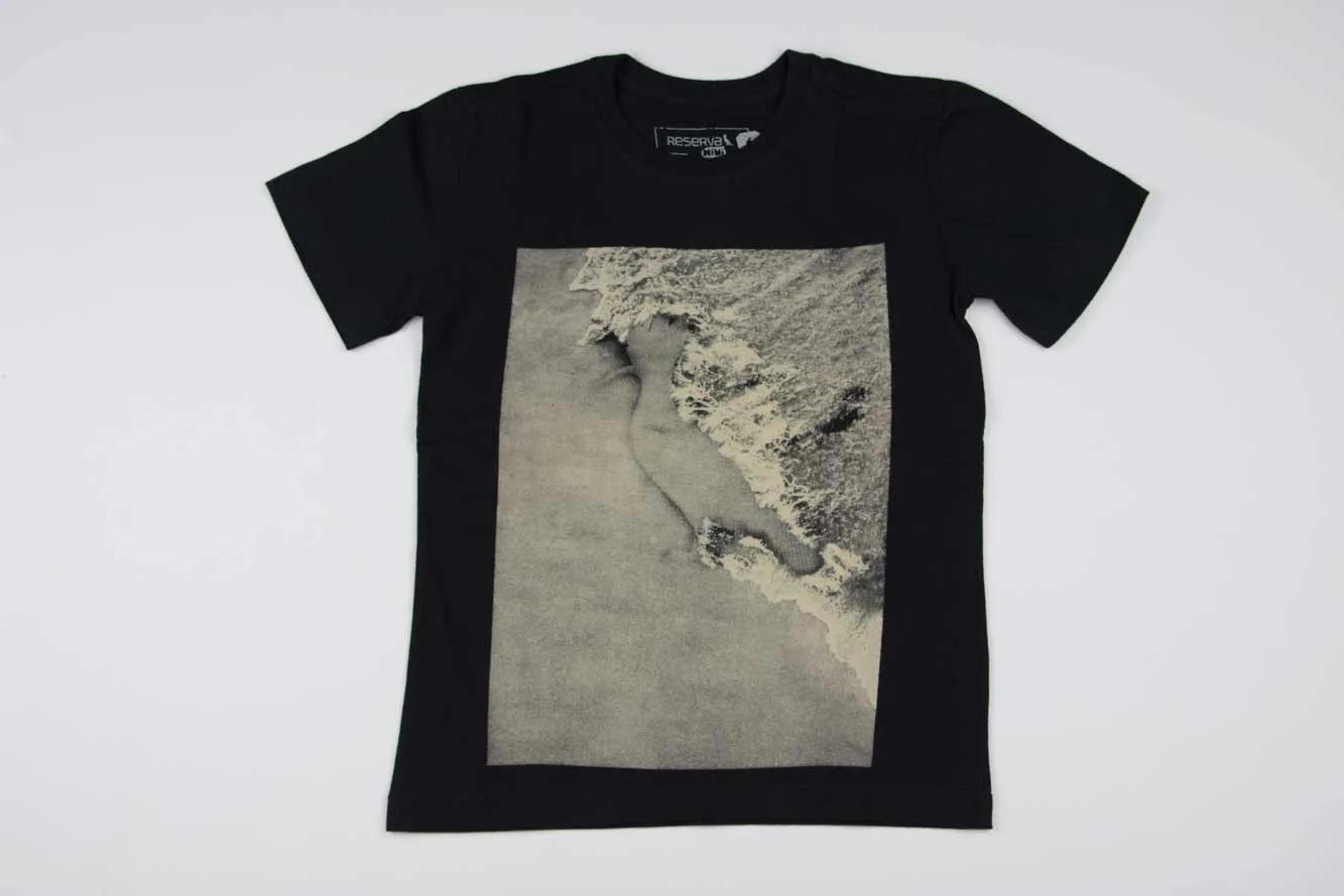 Camiseta Pica Pau Praia Reserva Mini
