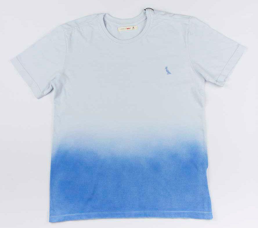 Camiseta Spray Color Azul Reserva Mini