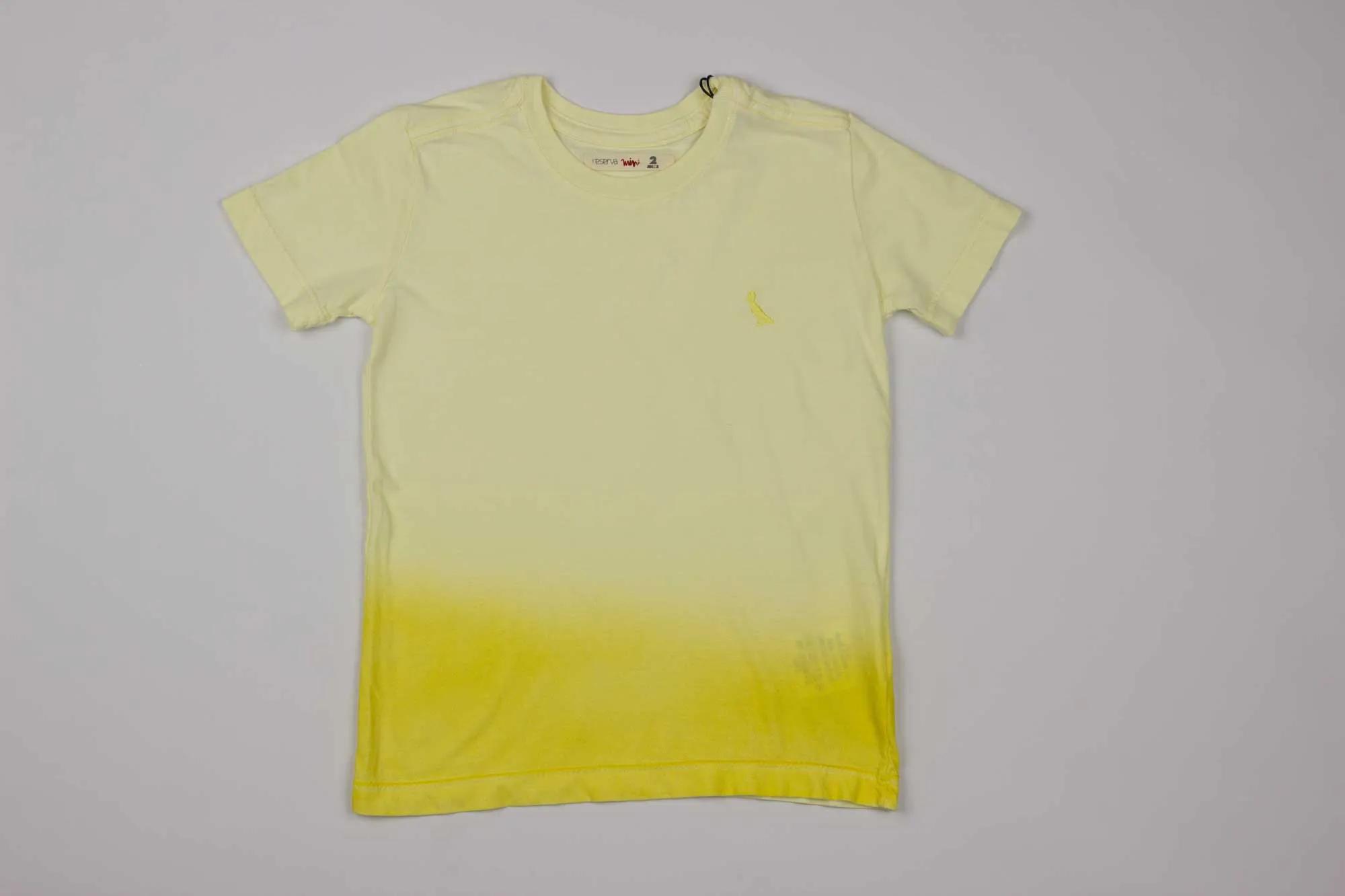 Camiseta Spray Color Reserva Mini